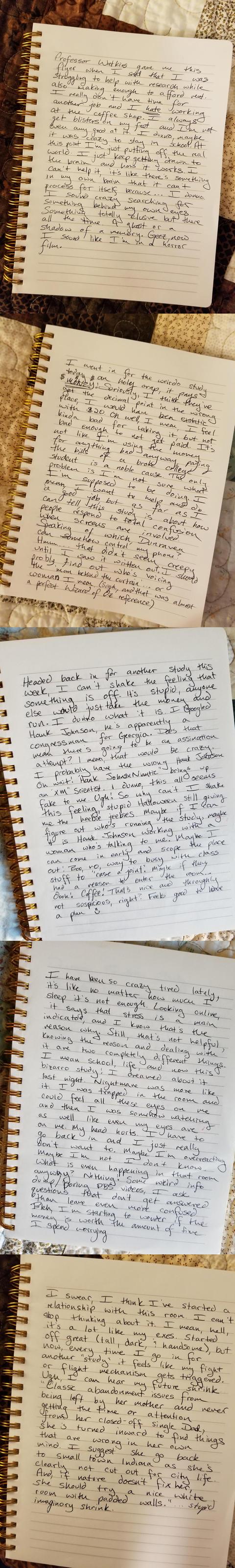ウェンディの手記