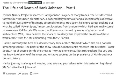ハンクの生と死(1)