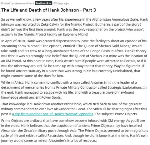 ハンクの生と死(3)