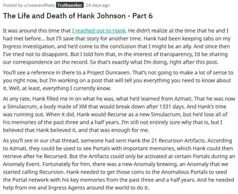 ハンクの生と死(6)