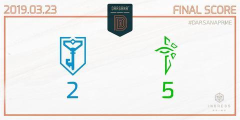 ダルサナプライム:第2週はエンライテンドの勝利