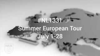 NL1331:欧州ツアー行程