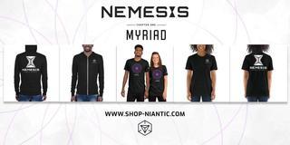 オンラインショップ:ミリアドとネメシスの関連商品販売開始
