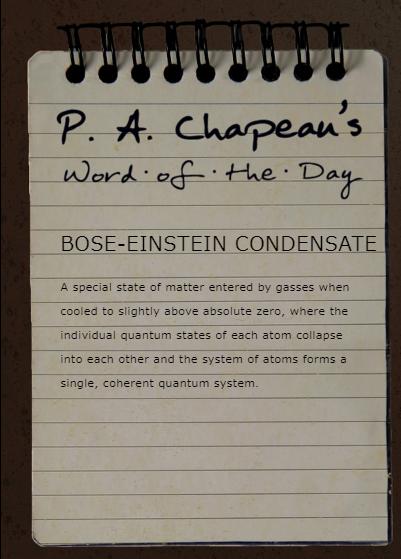 ボース=アインシュタイン凝縮