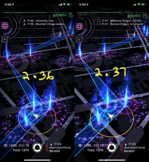 マップ画面の色収差削除