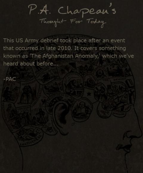 米軍の報告書