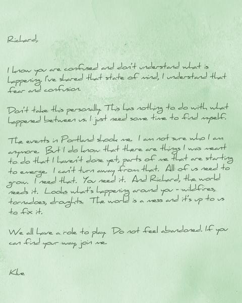 クルーからの手紙