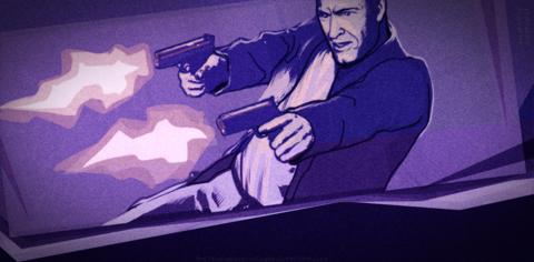 二挺の拳銃