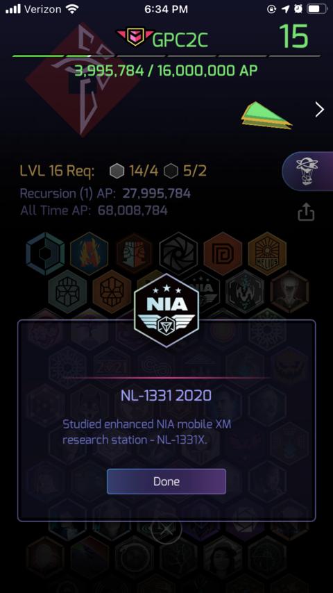 2020年版NL-1331メダルのゲーム内販売について