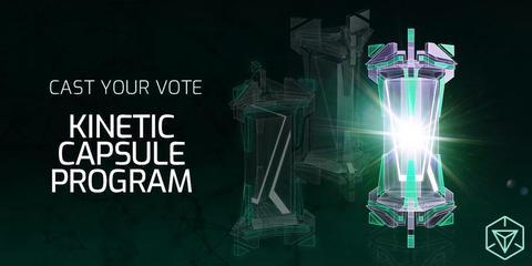 投票結果:キネティックカプセルの新プログラム